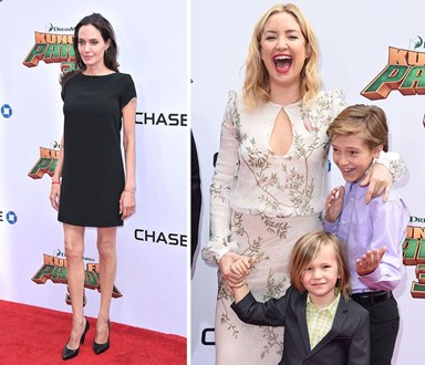 Angelina and Kate's family fun at Kung Fu Panda 3 premiere