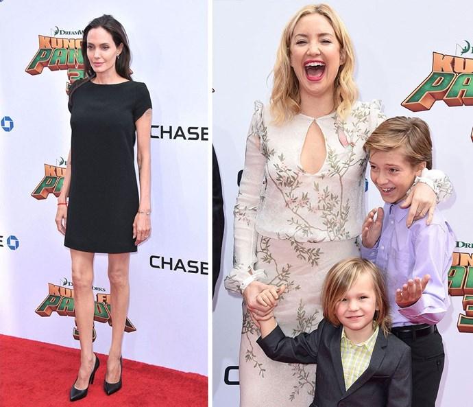Angelina and Kate's family fun at Kung Fu Panda 3 premiere