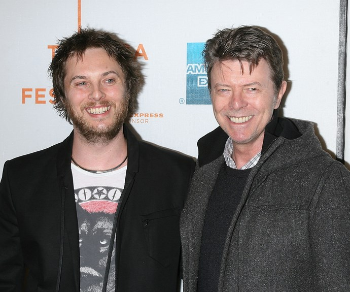 David Bowie and Duncan Jones