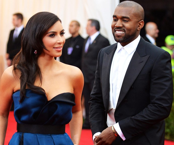 Kim Kardashian and Saint West