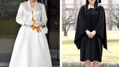 Princess Mako of Japan graduates from Leicester University