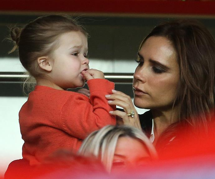 Victoria and Harper Beckham throwback! Victoria often takes to Instagram to gush about her kids - including her youngest, sweet little Harper.