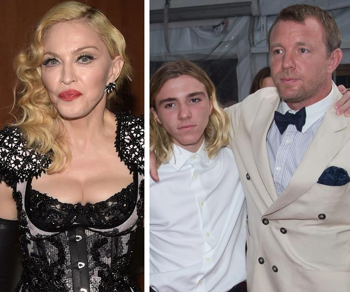 Rocco doesn't want to live with his mum, Madonna.