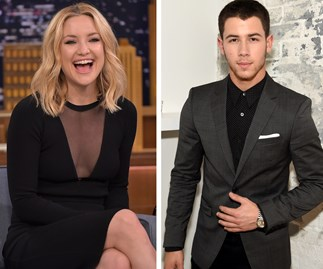 """Nick Jonas opens up about his """"unbelievable connection"""" with Kate Hudson"""