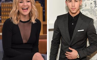 """Nick Jonas speaks about his """"unbelievable connection"""" with Kate Hudson"""