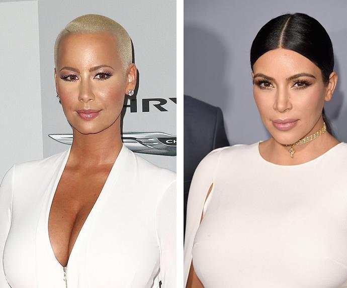 Amber Rose Defends Kim Kardashians Nude Photo, Slams Pink