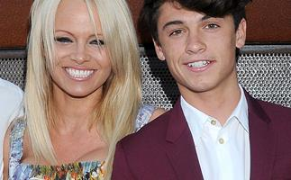 Pamela Anderson's youngest son Dylan Jagger Lee is the new face of Saint Laurent
