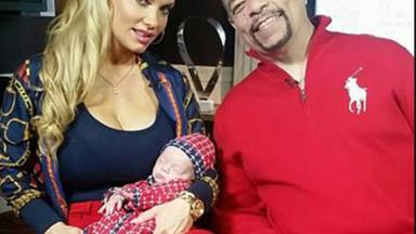 Coco and Ice-T's two-month-old gets her ears pieced