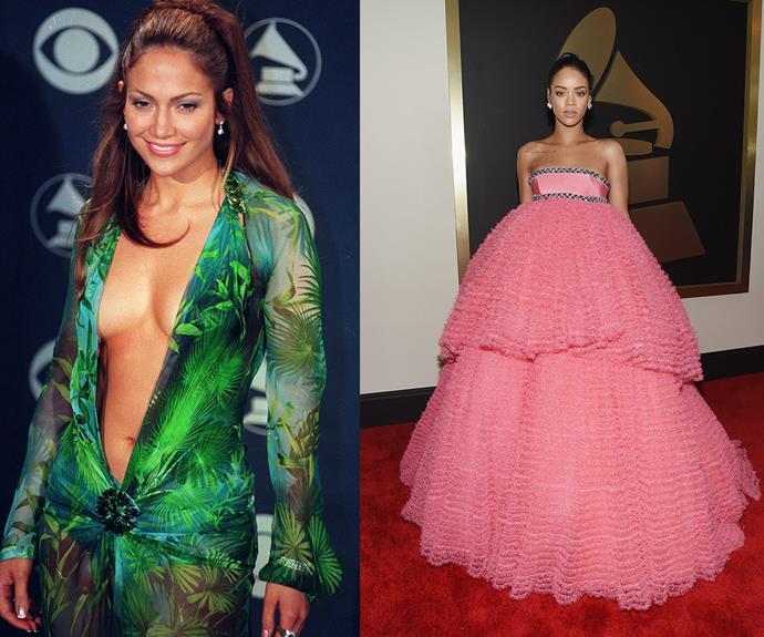 Jennifer Lopez and Rihanna