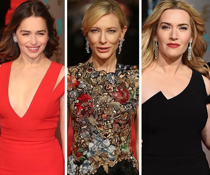 Emilia Clarke, Cate Blanchett, Kate Winslet