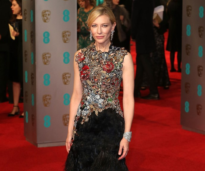 Stars at the 2016 BAFTAs