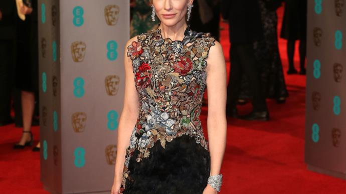 Stars at the 2016 BAFTAs