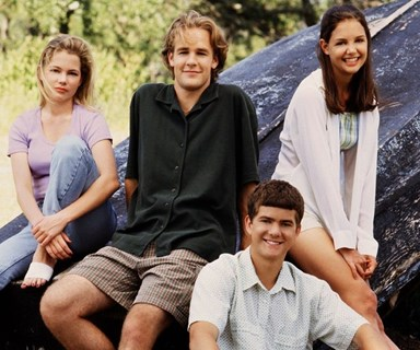 Katie Holmes finally 'fesses up on who the better kisser was on Dawson's Creek