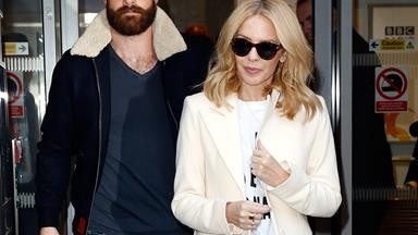 Kylie Minogue is engaged to Josh Sasse!