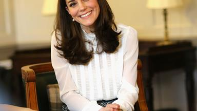 Duchess Catherine fits in some retail therapy