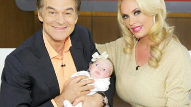 Coco Austin appears on The Dr Oz. Show to talk about her miracle baby