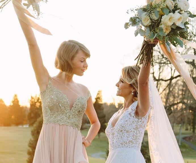 Taylor Swift and Britany Maack