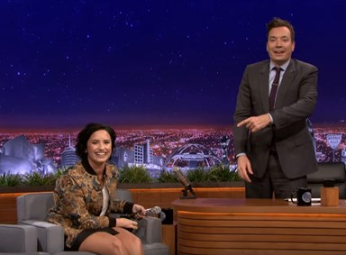 Watch: Demi Lovato absolutely nails Christina Aguilera impression