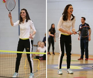 Duchess Catherine meets her match in friendly game of tennis with Judy Murray