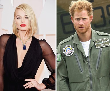 Margot Robbie didn't realise she was talking to Prince Harry