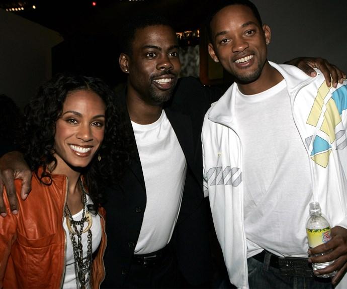 Chris Rock, Will Smith and Jada Pinkett Smith