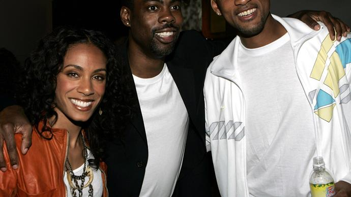 Chris Rock, Will Smith and Jada Pinkett Smith