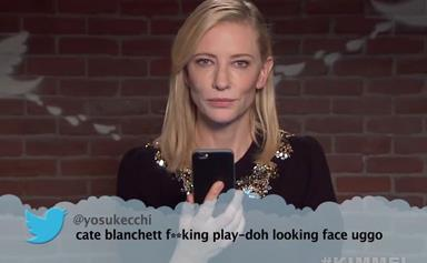 Cate Blanchett, George Clooney and more read Mean Tweets