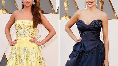 Oscars 2016: Stars on the red carpet