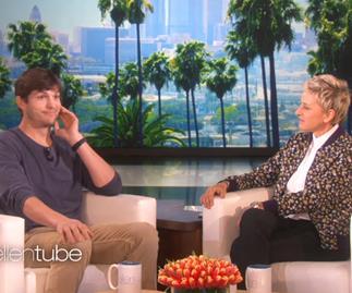 Ashton Kutcher on Ellen DeGeneres
