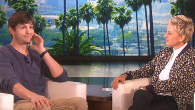 Ashton Kutcher dishes on family life with Mila and Wyatt