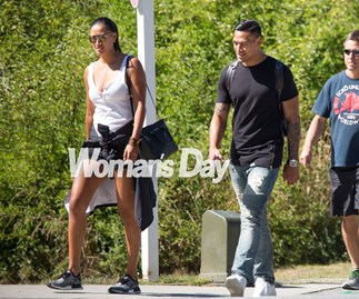 Maria Tutaia and Israel Folau in Queenstown