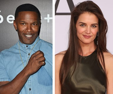 Is Katie Holmes secretly engaged to Jamie Foxx?