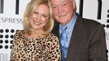 "Kerri-Anne Kennerley's husband John is in a ""comfortable position"" after spinal surgery"