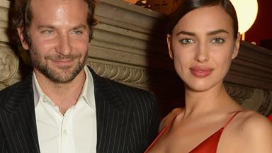Sealed with a kiss! Bradley Cooper and Irina Shayk make their first red carpet debut