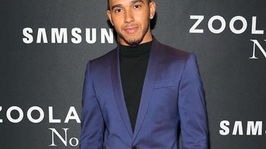 Lewis Hamilton spotted in Auckland