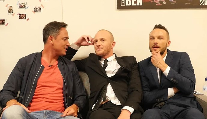 Watch: Jono and Ben get candid