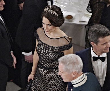 Princess Mary transforms her favourite necklace into a tiara