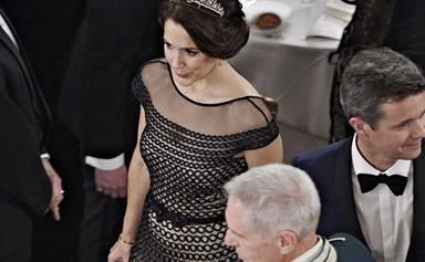 Princess Mary transforms her favourite necklace into a tiara