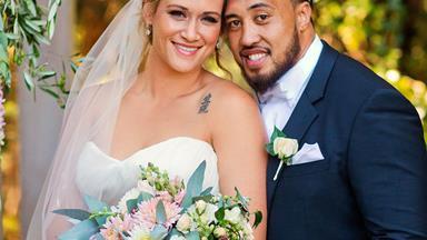 Silver Fern Cathrine Latu's fairytale wedding