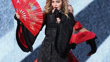 This rebel has no heart! Madonna exposes a fan onstage at Brisbane concert