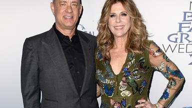 It was love at first sight for Tom Hanks and Rita Wilson