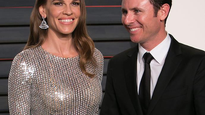 Hilary Swank and Ruben Torres