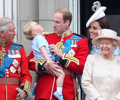 Duchess Catherine took snaps of George and Charlotte with the Queen at 90th birthday photoshoot