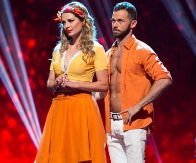O-Cha Cha! Mishca Barton struggles on Dancing With the Stars
