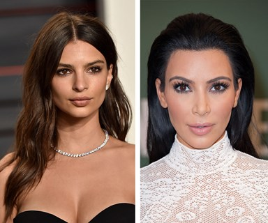 Kim Kardashian and Emily Ratajkowski team up for topless selfie against haters