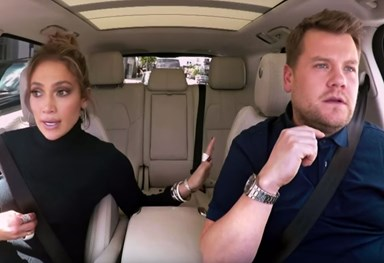 Carpool Karaoke: James Corden texts Leo DiCaprio from JLo's phone