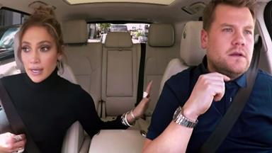 Carpool Karaoke: James Corden texts Leo DiCaprio from JLo's phone