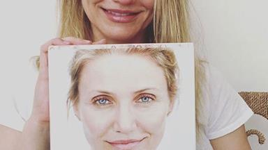 Cameron Diaz is glowing as she posts make-up free selfie