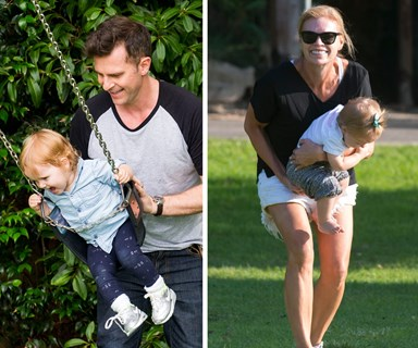 The kids of Mornings: Sonia Kruger and David Campbell's adorable day with their tots