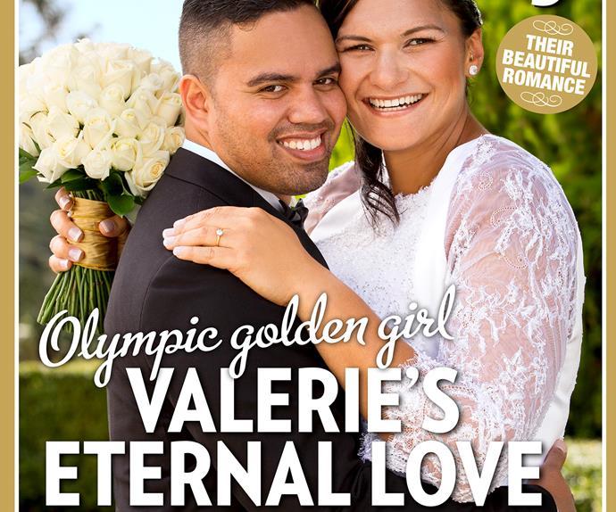 Valerie Adams wedding